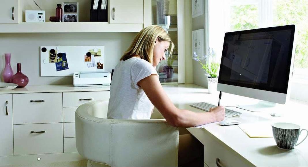 Excellent Dicas Para Trabalhar Em Um Home Office E Ser Produtiva Largest Home Design Picture Inspirations Pitcheantrous
