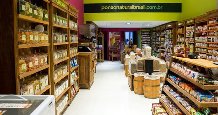 As lojas da franquia Ponto Natural oferecem um ambiente bastante confortável e acolhedor