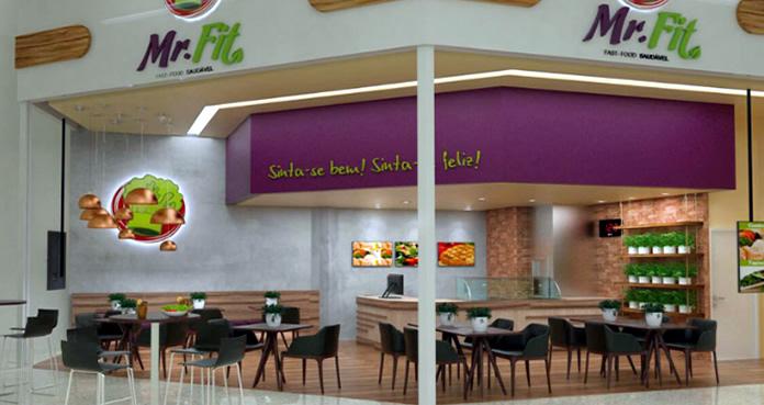 Franquias de fast food saudável