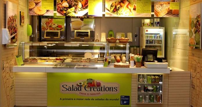Loja da franquia Salad Creations