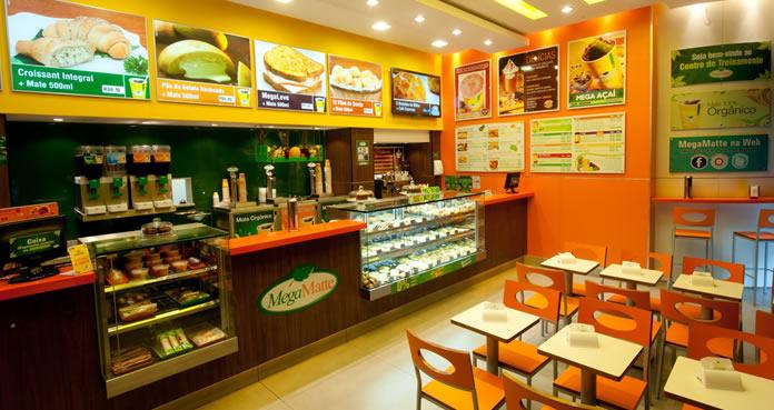 Megamatte - Opção de franquia no setor de cafeteria com foco na alimentação saudável